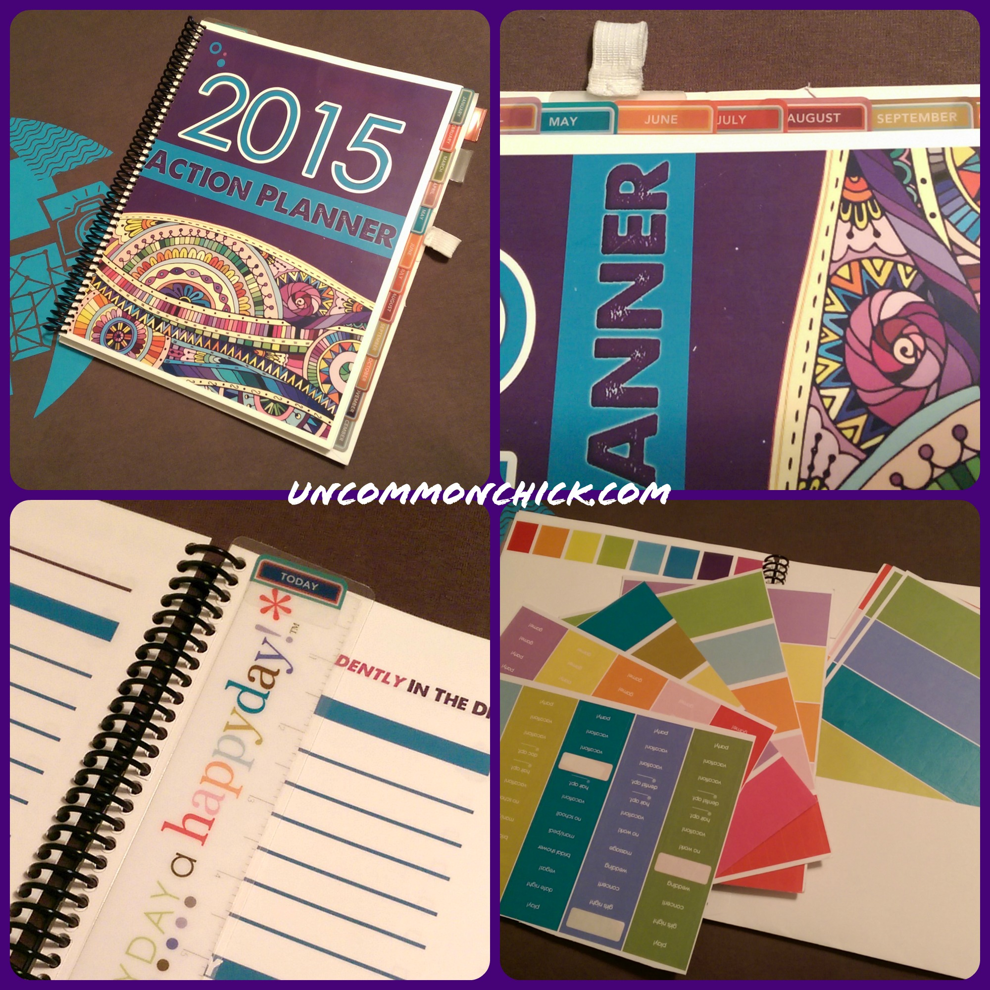 2015 action planner collage uncommon chick