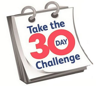 30 day mind, body, soul challenge