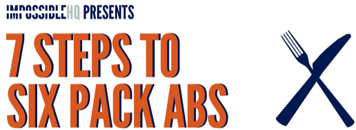7 Steps To Six Pack Abs – It's Not What You May Think (Infographic)