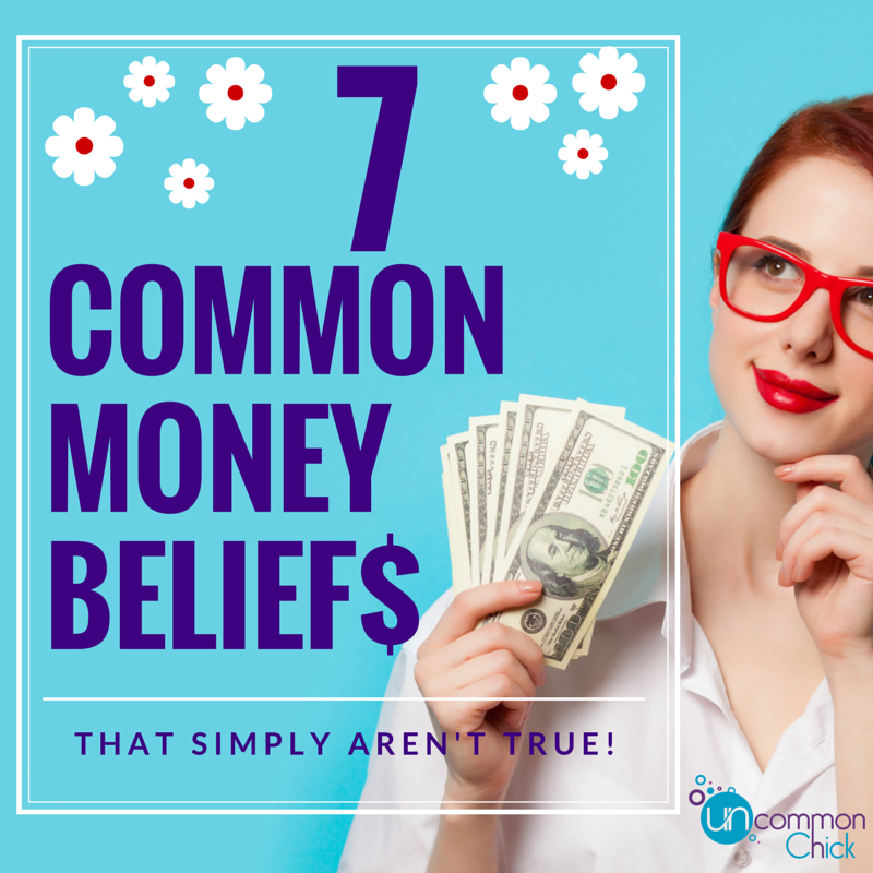 7 common money beliefs that simply aren't true.