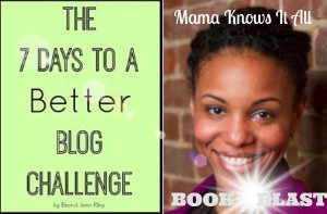7 Days to a Better Blog Challenge via @Brandijeter