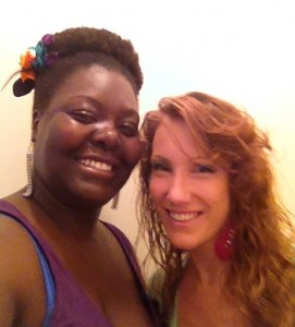 amber crawford and I