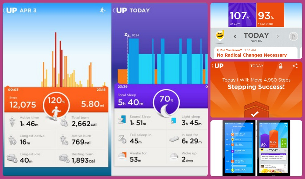 Jawbone UP24 In Action