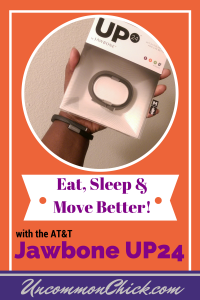 Eat, Sleep and Move Better with the AT&T Jawbone UP24 + Giveaway