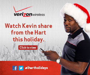 Kevin Hart and Verizon - Real or Fake Tree? #ihartholidays
