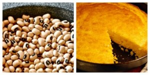 black eyed peas and cornbread holiday tradition