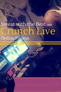 Sweat with the best with Crunch Live Online Fitness programs