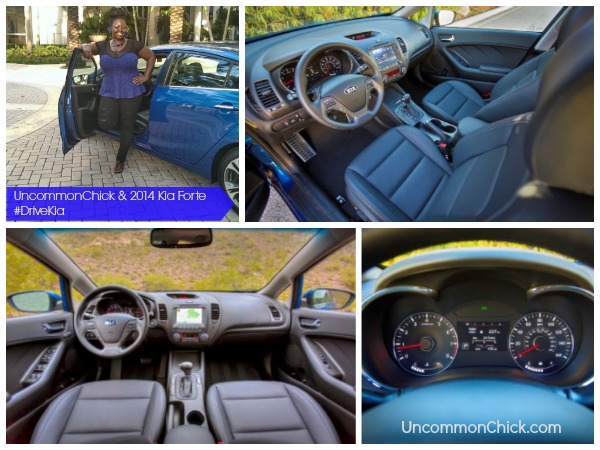 Uncommon Chick test drives out the 2014 Kia Forte #drivekia