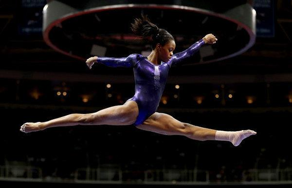 "Gabrielle ""Gabby"" Douglas ""The Flying Squirrel"""