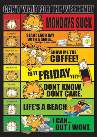 garfield-poster-days-of-the-week