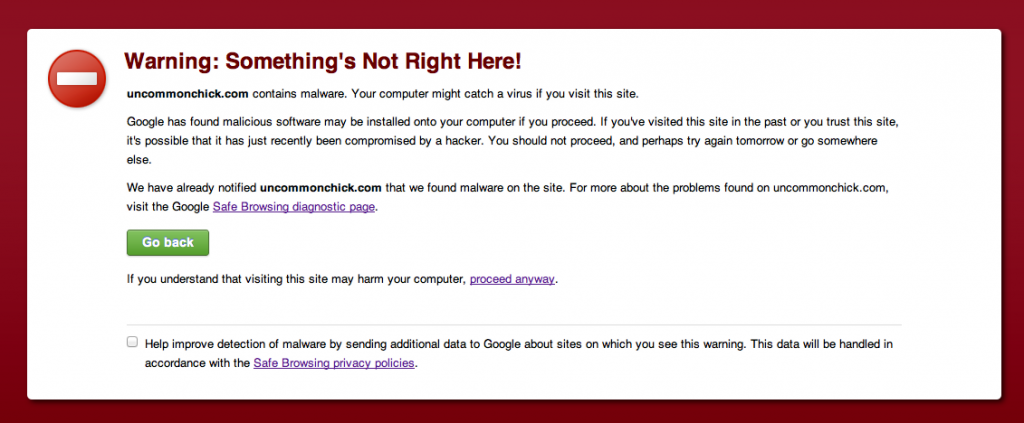 google-malware-warning-izea
