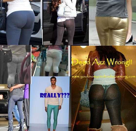 How Not To Wear Leggings…They Are Not Pants!