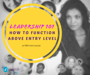 Leadership 101: How to Function Above Entry Level (Free Mini-Course)
