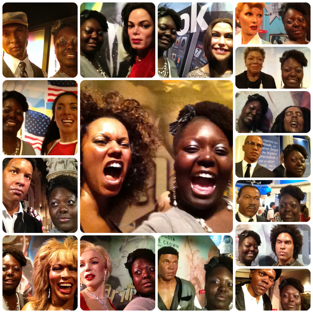 madame tussauds wax museum Collage