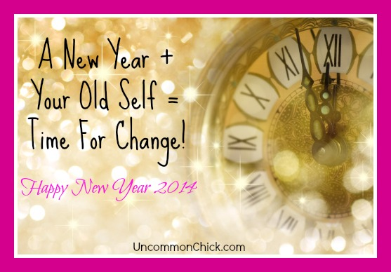 a new year plus your old selftime for change