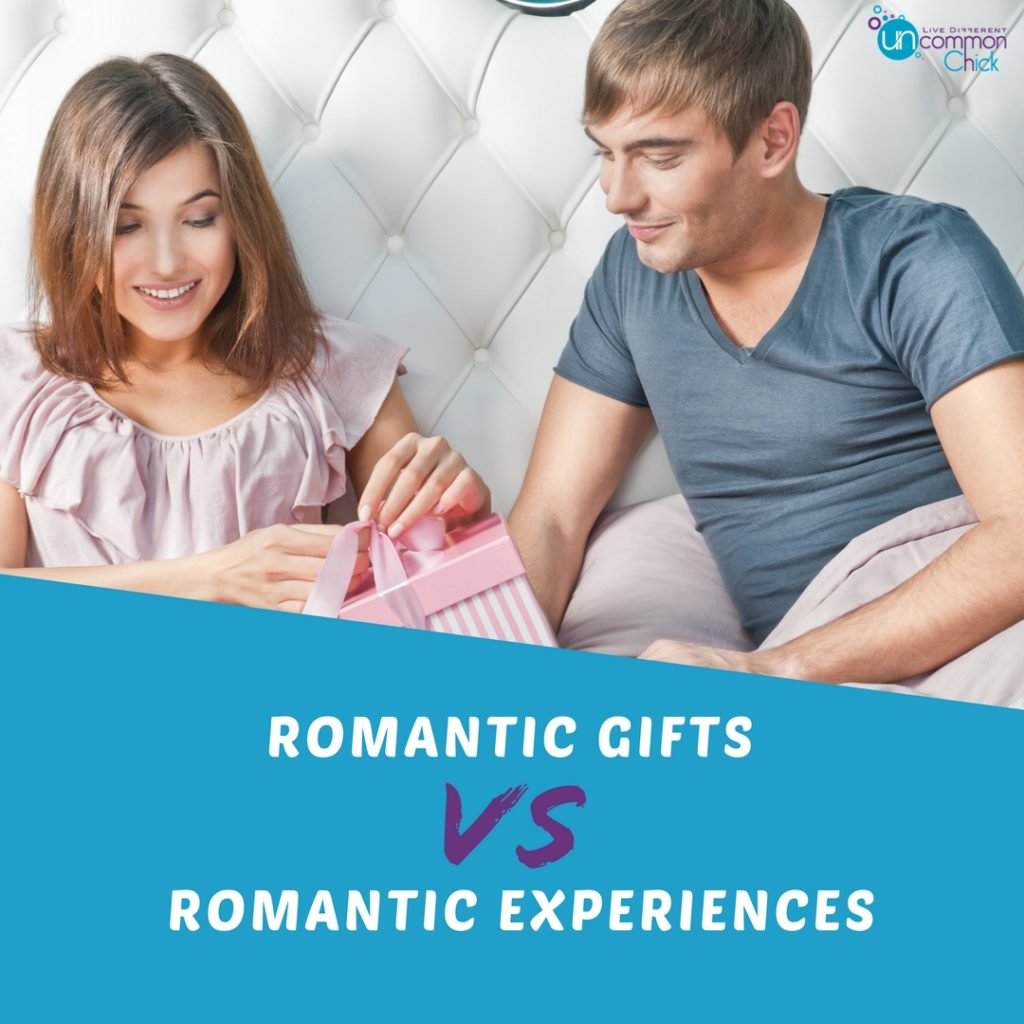romantic gifts vs experiences