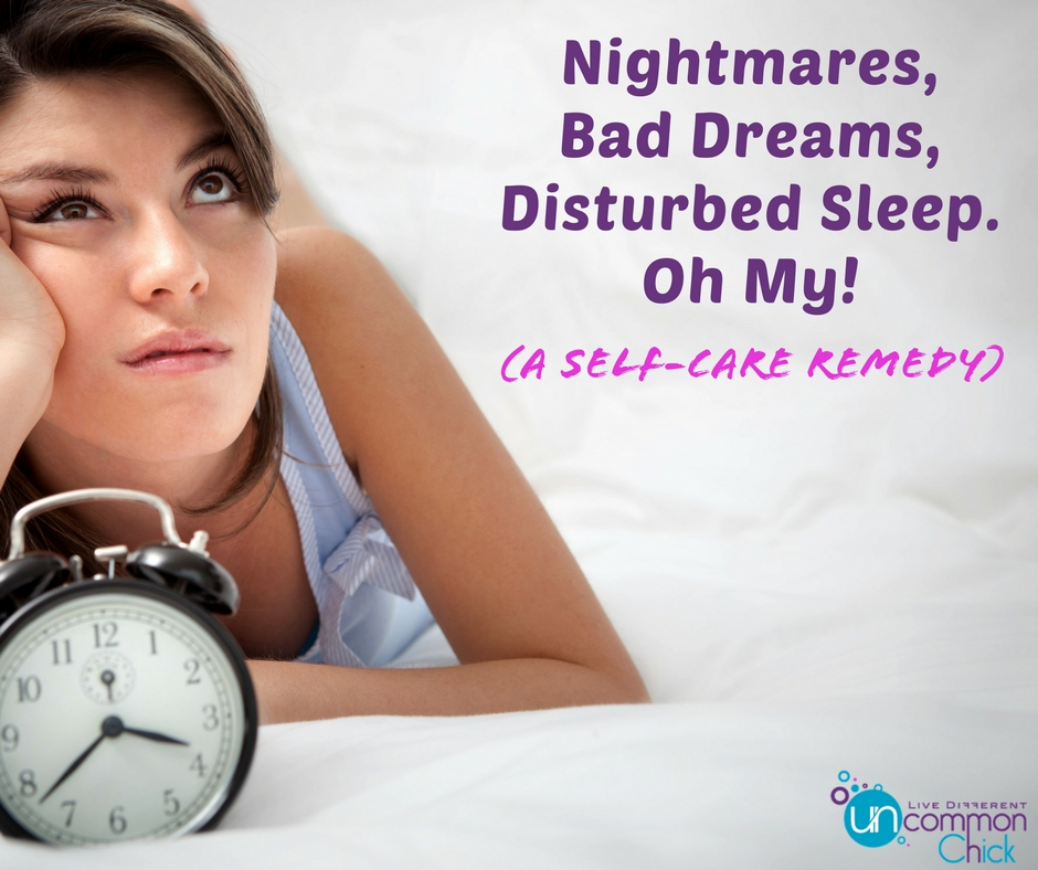 self care remedy for nightmares