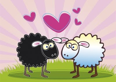 Sheep In Love - Be the person you want to find