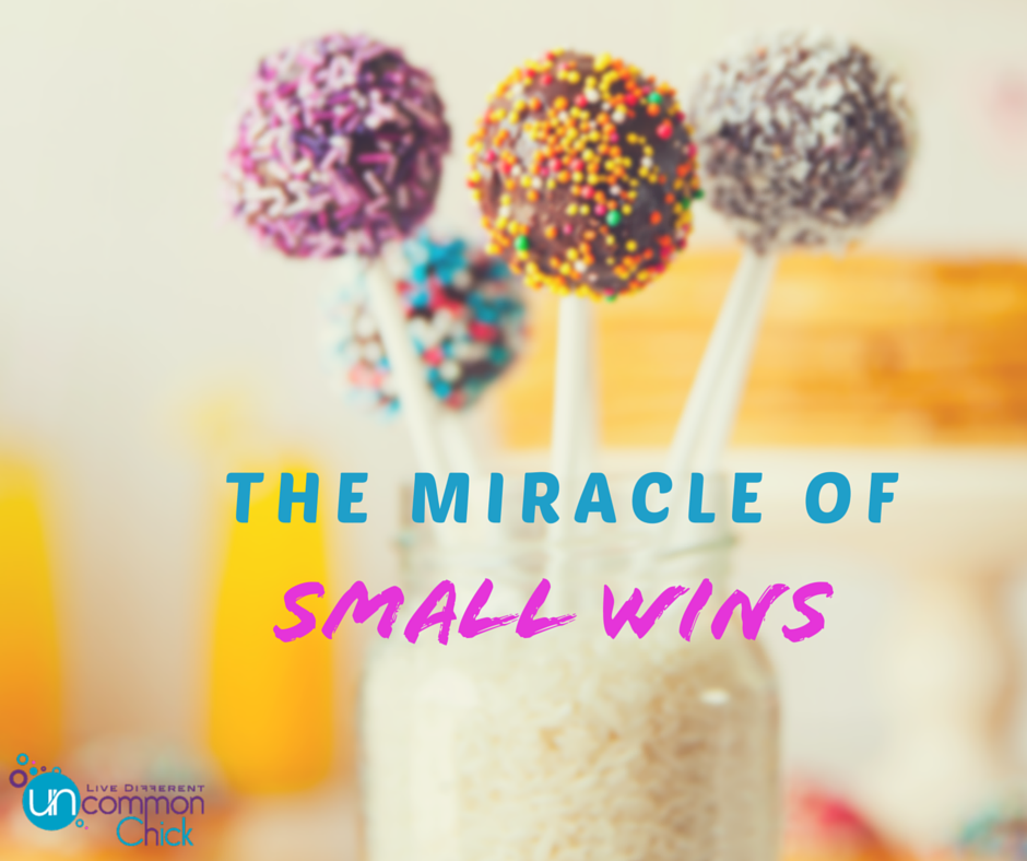 The miracle of small wins #tinywins
