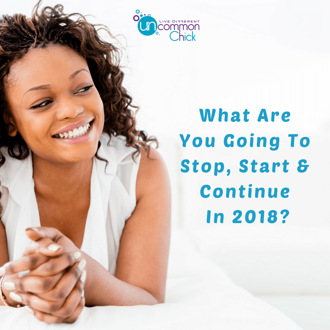What Will You Stopstartcontinue In 2018 Plus Free Worksheet