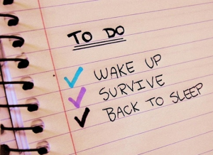 Overcome Information Addiction by creating daily to do lists