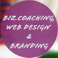 Business coaching, web design, and personal branding