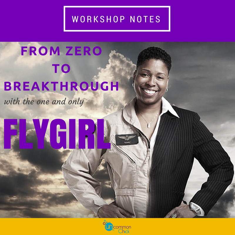 From Zero to Breakthrough - workshop notes